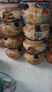 Talavera-Clay-Bean-Pots