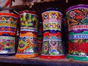 Talavera-Pottery-Multi-Colors